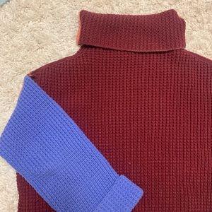 Free people colorblock sweater